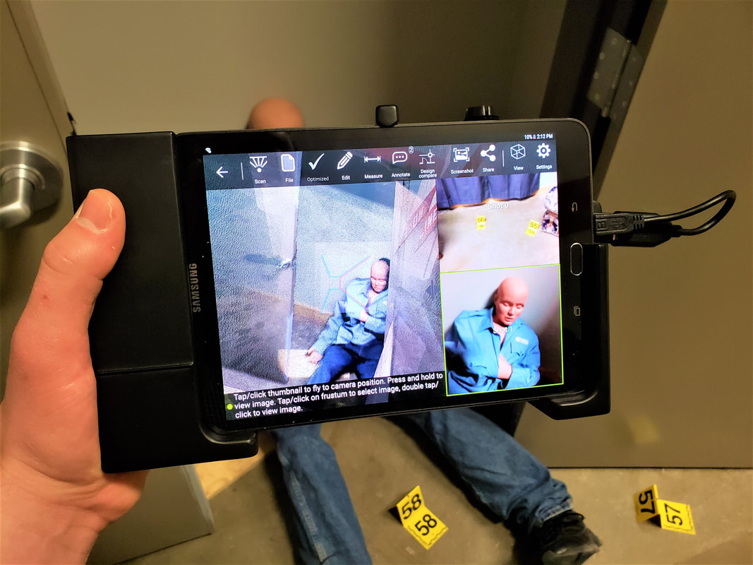 3D Scanning the Fort Worth Police Tactical Training Village